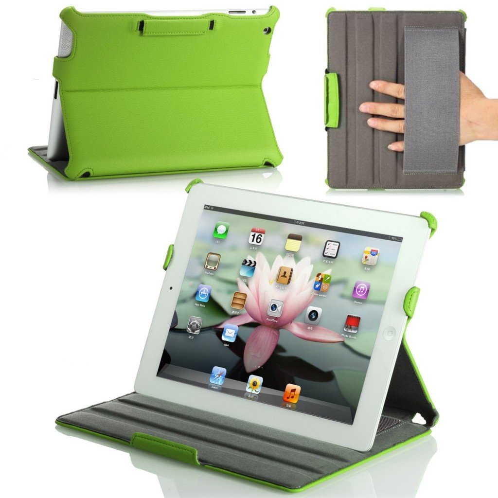 MoKo Slim-Fit Folio Stand Case for Apple New iPad 4