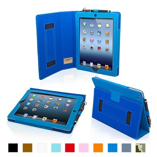 Snugg iPad Mini Leather Case Cover and Flip Stand