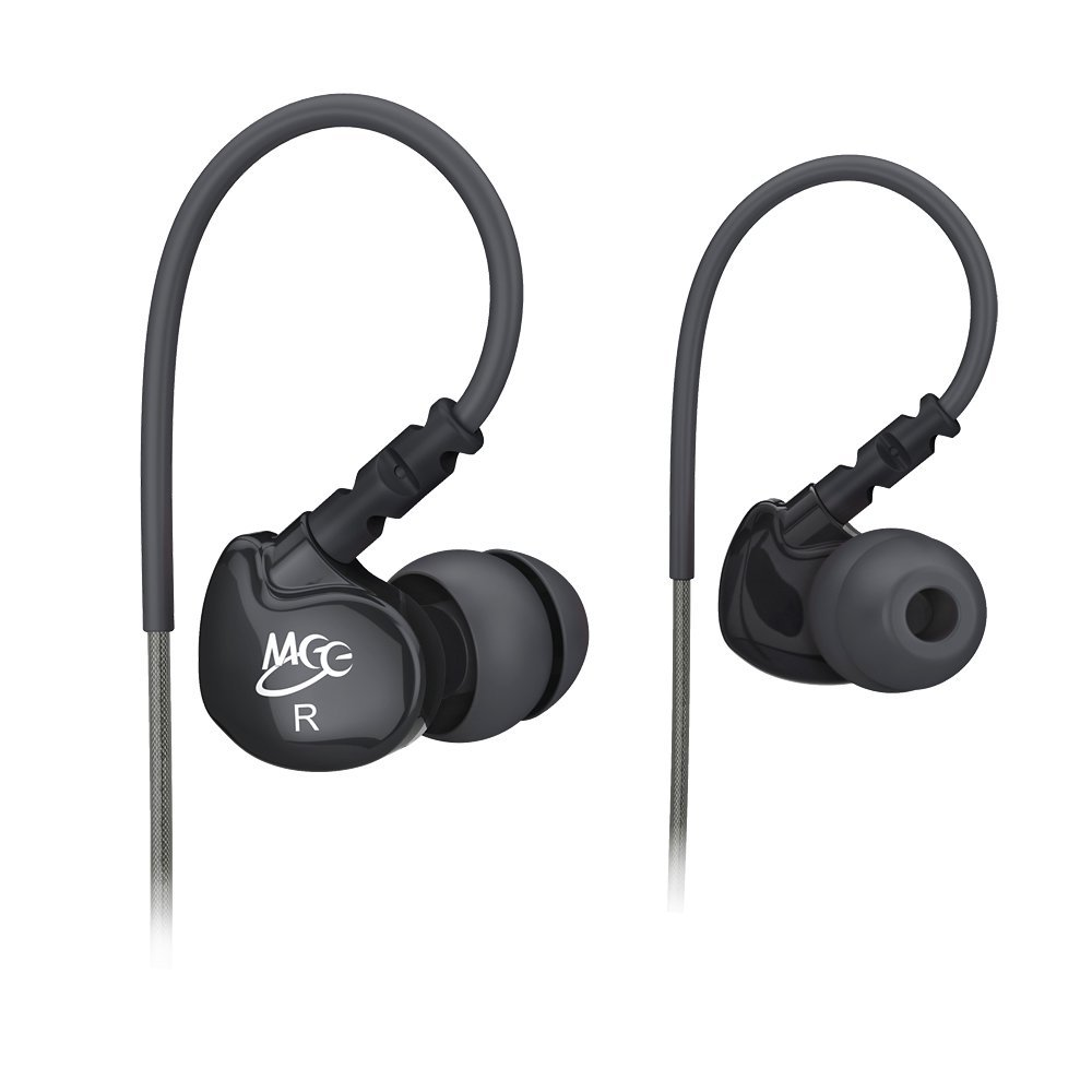 MEElectronics Sport M6 Noise-Isolating In-Ear Headphones with Memory Wire