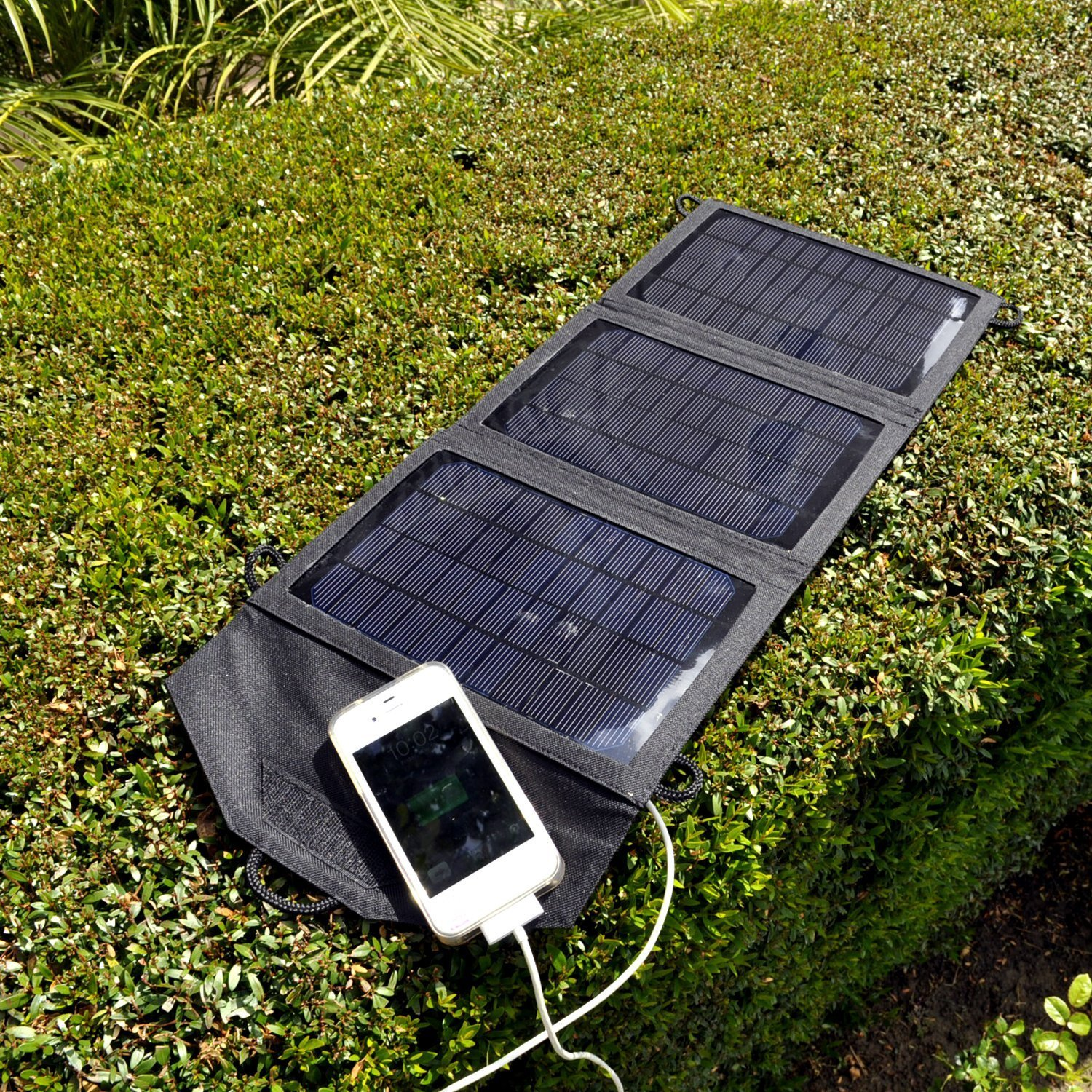 solar chargers We've done the research and picked the top 5 portable solar powered chargers  compatible especially with smartphones and tablets.